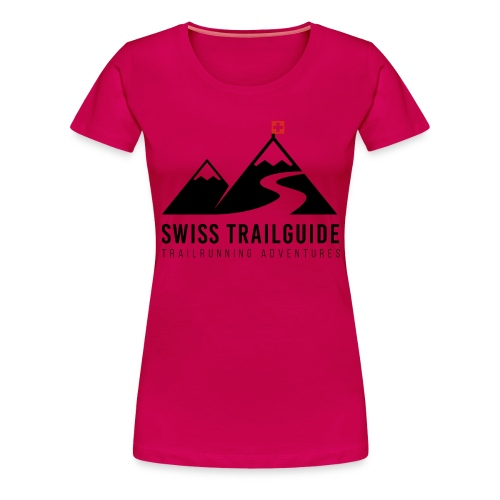 Swiss Trailguide Logo - Frauen Premium T-Shirt