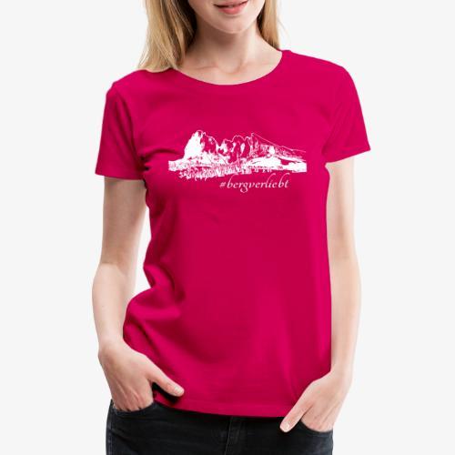 #Bergverliebt - Frauen Premium T-Shirt