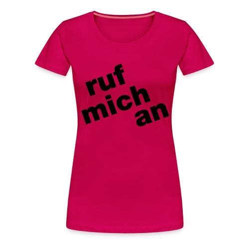ruf - Frauen Premium T-Shirt