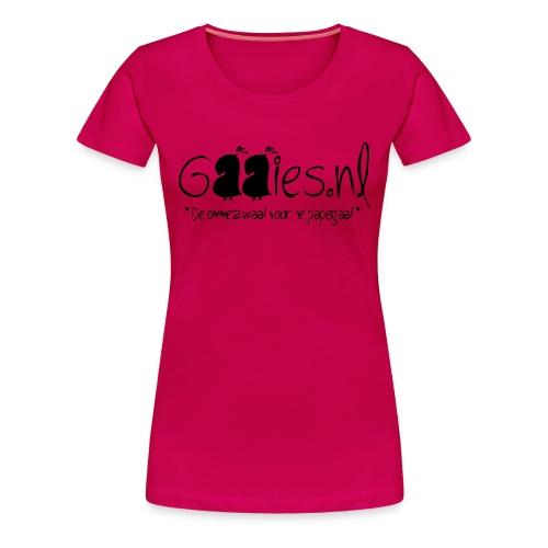 gaaies - Vrouwen Premium T-shirt