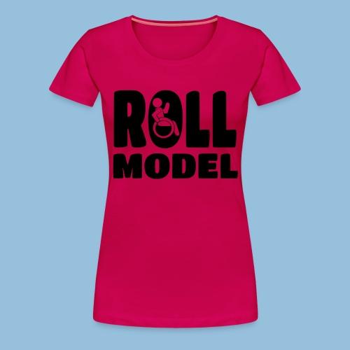 Roll model 016 - Vrouwen Premium T-shirt