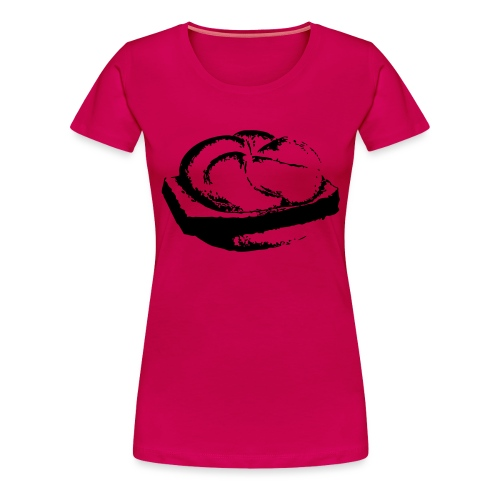 Leberkassemmel - Frauen Premium T-Shirt