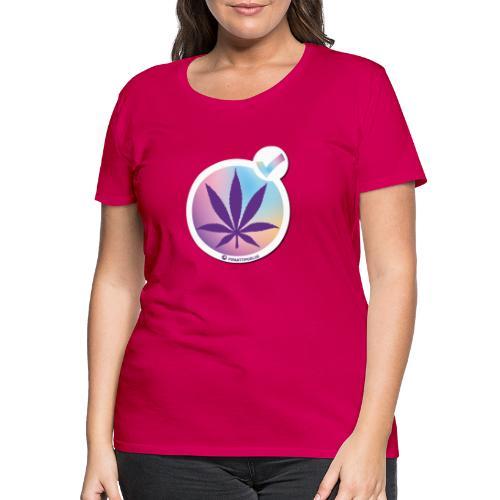 Kannabiksen laillistamisen puolesta - Naisten premium t-paita