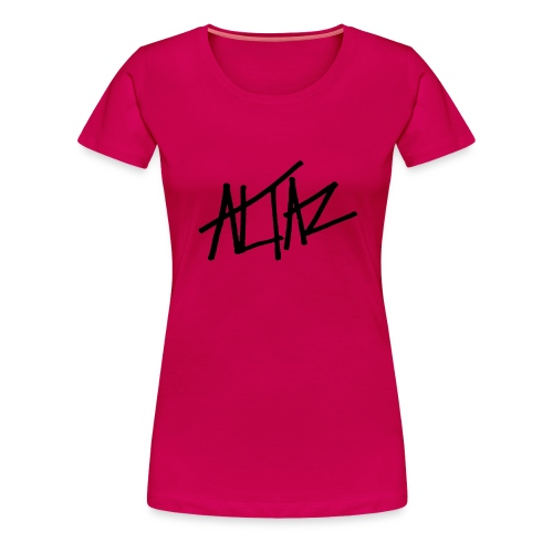 Altaz Clean Logo - Premium-T-shirt dam