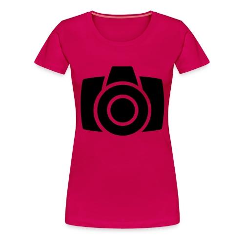 Camera - Vrouwen Premium T-shirt