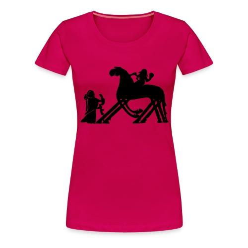 Til Valhall - Premium T-skjorte for kvinner