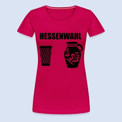 Hessenwahl Apfelwein - Frauen Premium T-Shirt