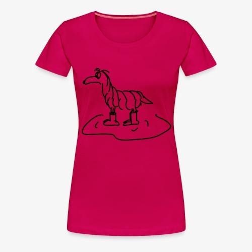 Regenhund - Frauen Premium T-Shirt