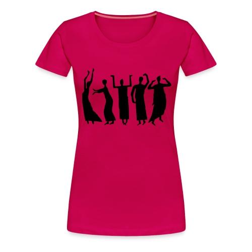 Eurythmie Figuren - Frauen Premium T-Shirt