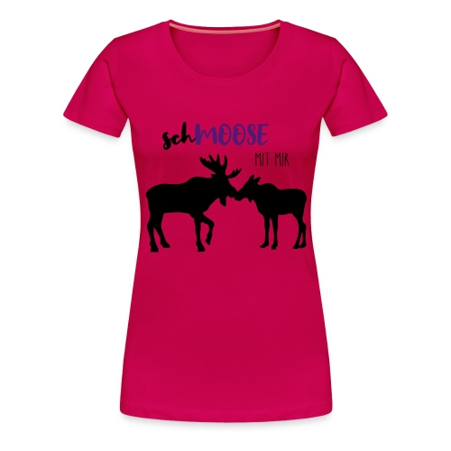 Moose Love - Frauen Premium T-Shirt