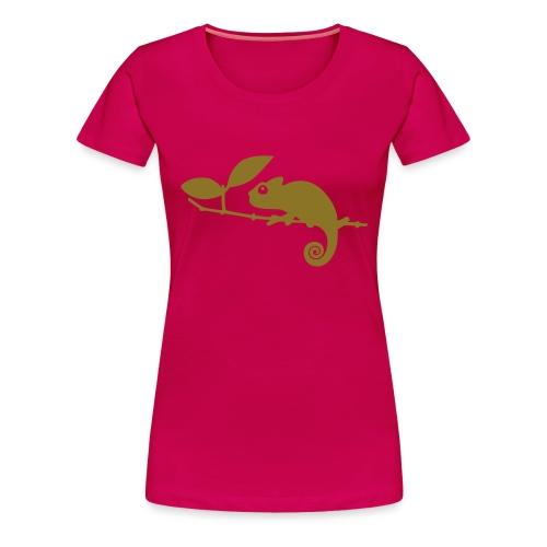 Chamäleon - Frauen Premium T-Shirt