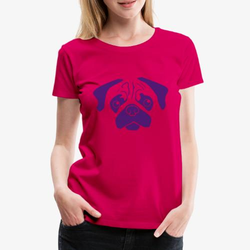 Pugsley - Premium-T-shirt dam