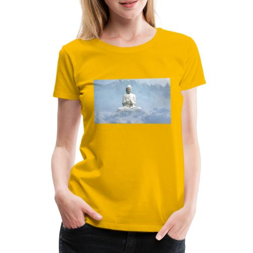 Buddha with the sky 3154857 - Women's Premium T-Shirt