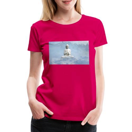 Buddha with the sky 3154857 - Women's Premium T-Shirt