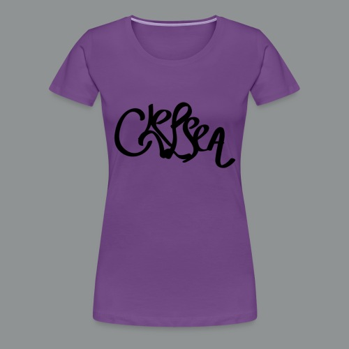 Kinder/ Tiener Shirt Unisex (rug) - Vrouwen Premium T-shirt