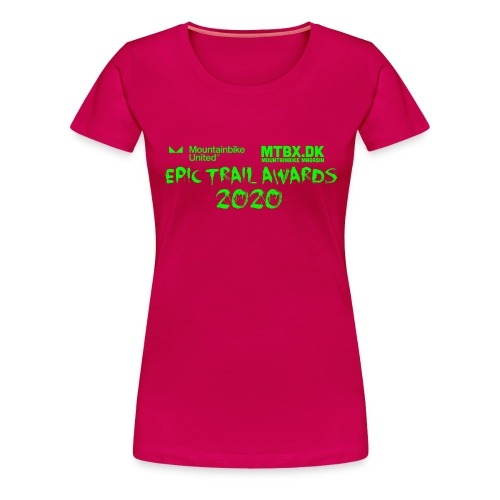 Epic trail Awards - Dame premium T-shirt