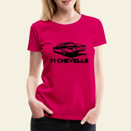 chevelle small - Dame premium T-shirt
