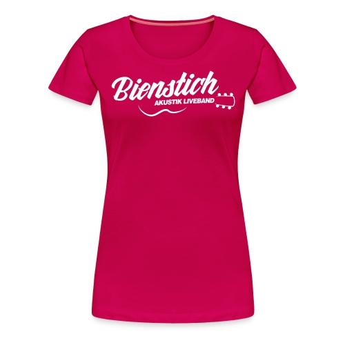 Bienstich Akustik Liveband - Frauen Premium T-Shirt