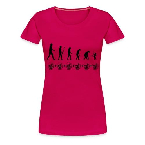Evolution drinking - Maglietta Premium da donna