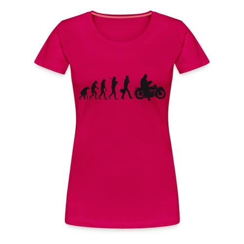 Evolution de l'homme - T-shirt Premium Femme