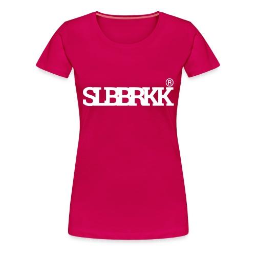 SLBBRKK white - Vrouwen Premium T-shirt