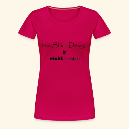 test_shop_design - Frauen Premium T-Shirt