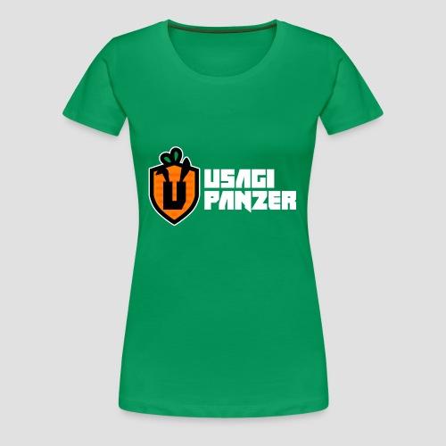 Usagi Panzer logo - Women's Premium T-Shirt