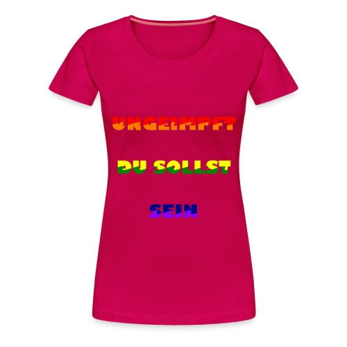 Resist 21.2 - Frauen Premium T-Shirt