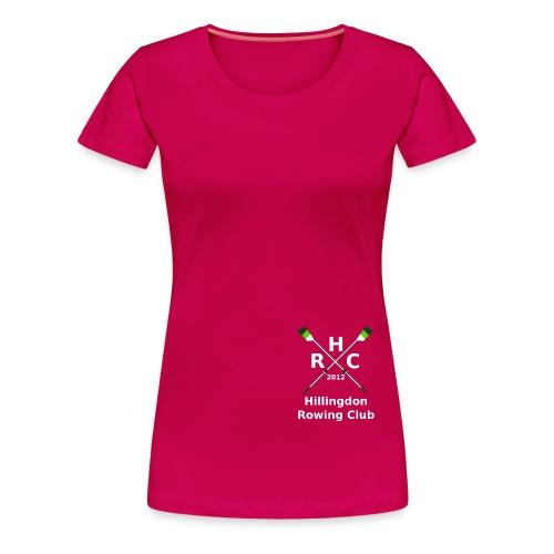 HRC Logo Inverted Brand Refresh Bitmap - Women's Premium T-Shirt