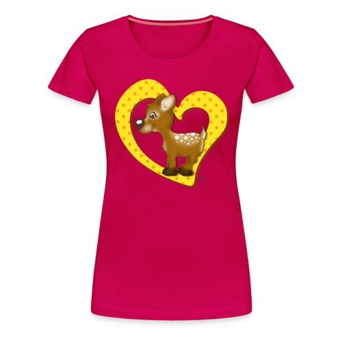Kira Kitzi Zitronella - Frauen Premium T-Shirt