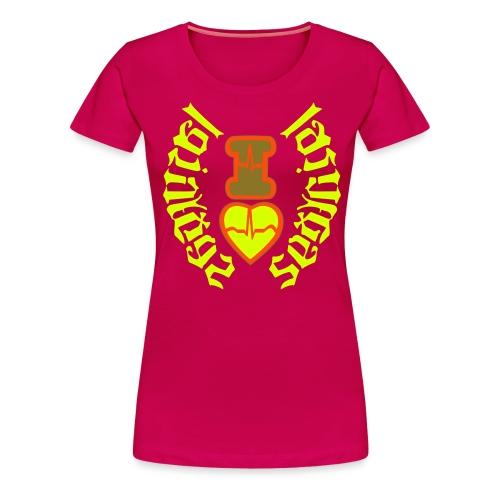 i love Las Vegas sexy girl,Las Vegas subliminal se - Women's Premium T-Shirt