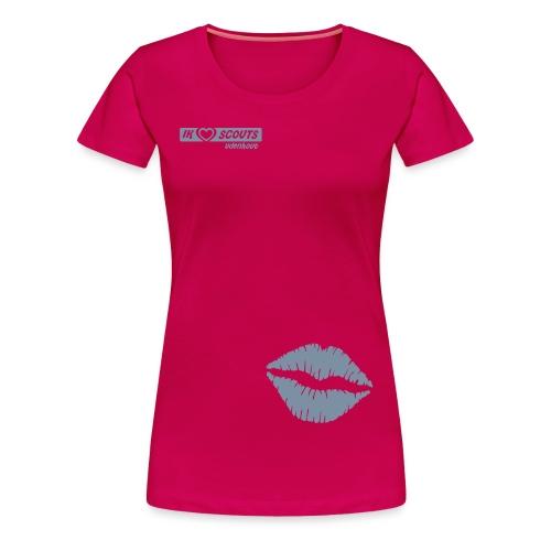 Gidsen shirt scouting Udenhout - Vrouwen Premium T-shirt