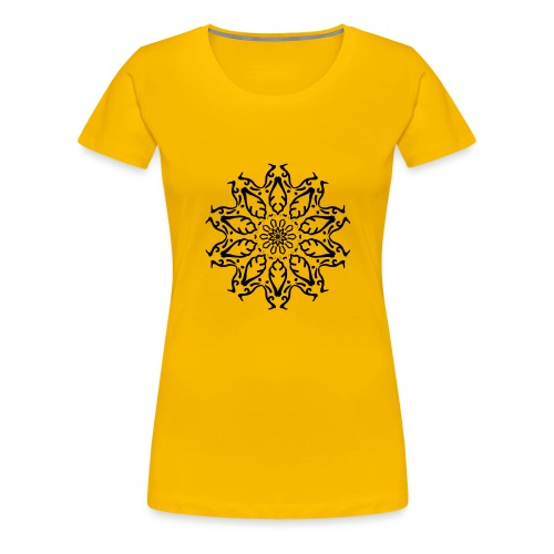 fleur - T-shirt Premium Femme