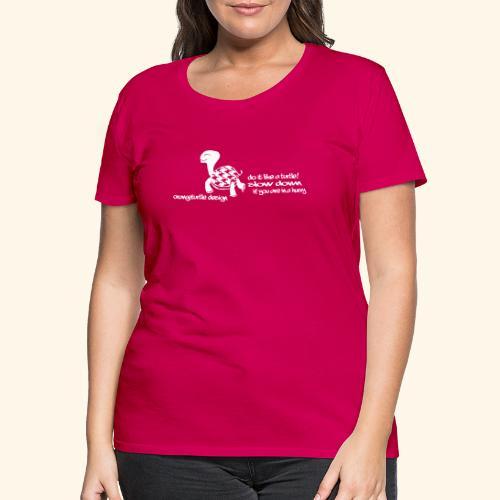 Schildkröte - Frauen Premium T-Shirt