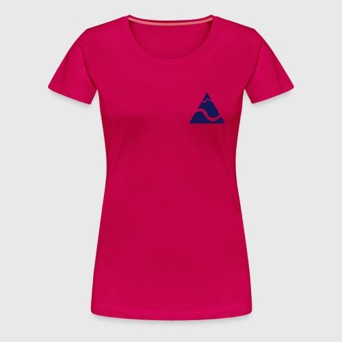 Logo Kleinekajakabenteuer - Frauen Premium T-Shirt