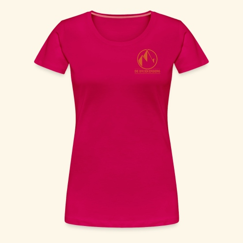 The Vertical Life - Vrouwen Premium T-shirt
