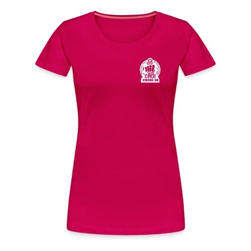 CKD Pixel white - Women's Premium T-Shirt