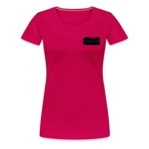 Tech Diver - Women's Premium T-Shirt