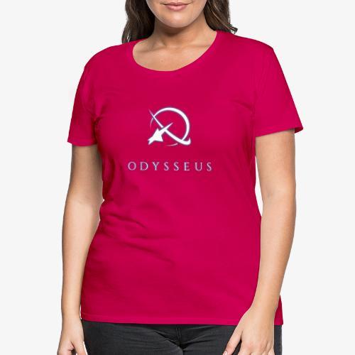 Odysseus glow text - Naisten premium t-paita