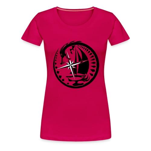 Drachen-Segler - Frauen Premium T-Shirt