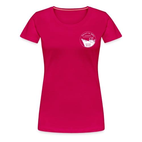 Logo Sport in MV gravur 2 - Frauen Premium T-Shirt