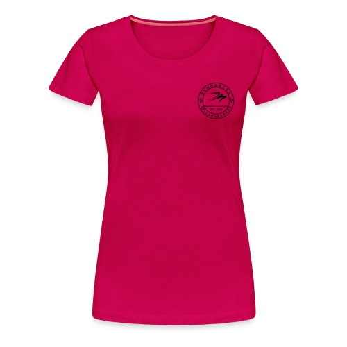 schwarz 12x12 - Frauen Premium T-Shirt