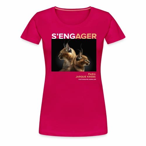 1 Achat = 1 Don à l'association Rainfer - T-shirt Premium Femme