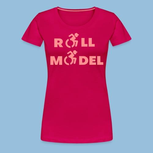 RollModel5 - Vrouwen Premium T-shirt