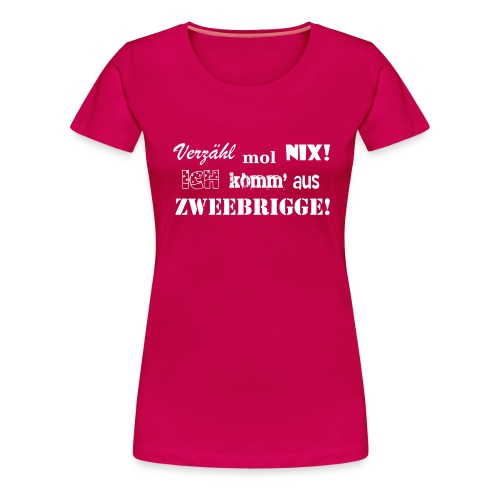 EZMN - Zweibrücken - Frauen Premium T-Shirt