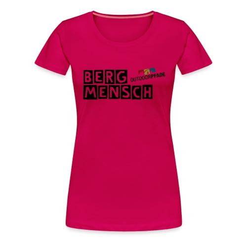 BergMensch#01 - Frauen Premium T-Shirt
