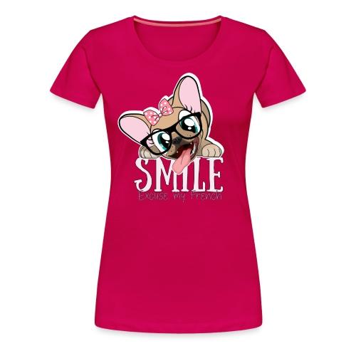 SMILE NAYA - T-shirt Premium Femme