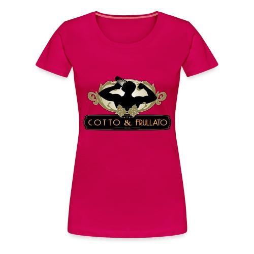 Cotto Frullato - Maglietta Premium da donna