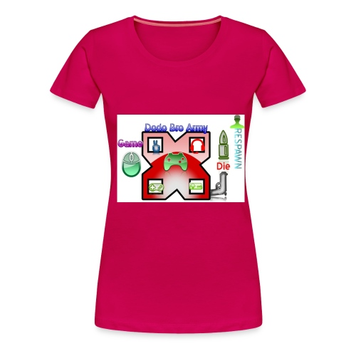 dodo logo - Women's Premium T-Shirt