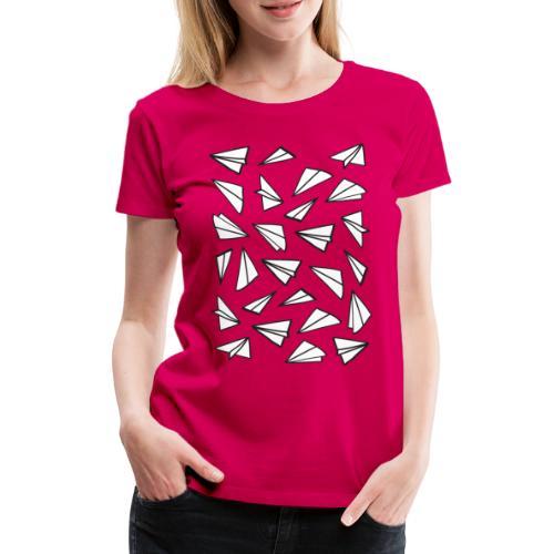 Paper Planes - Women's Premium T-Shirt